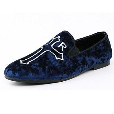 herresko komfort rund tå flat hæl skinn loafers sko flere farger tilgjengelige – NOK kr. 244