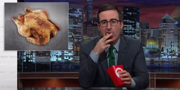 John Oliver explains why you should support chicken farmers, most of whom live below the poverty line, and despise chicken companies.