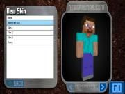 Sometimes the dull and simple skin of Steve in adventure or building Minecraft games can make you too bored! Get willing to design the new and special skins for him on your own? Just take steps to Skincraft and embark on the designing process here dear players!