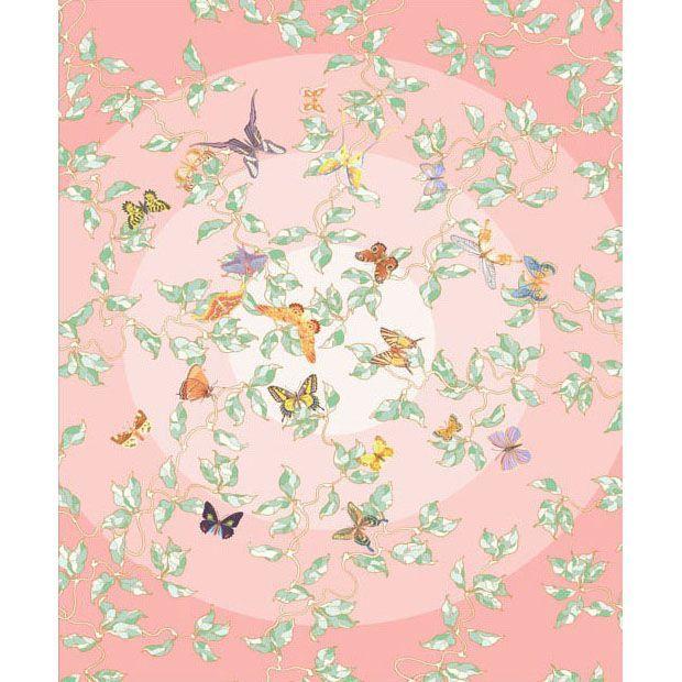Розовый ковер с бабочками Butterfly Paradise #ковер #дизайн #carpet #designe #deco
