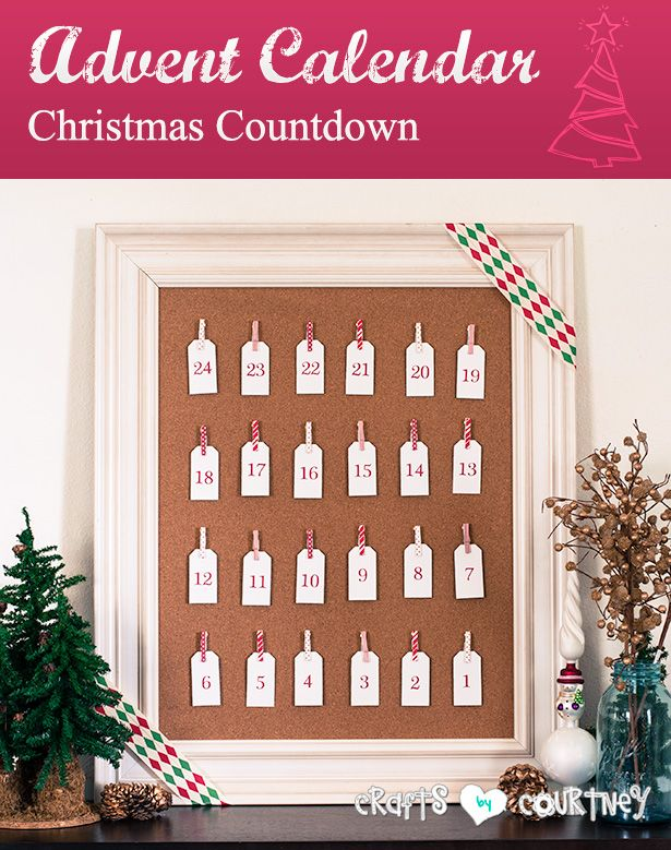 Advent Calendar - Christmas Countdown (a Silhouette project)