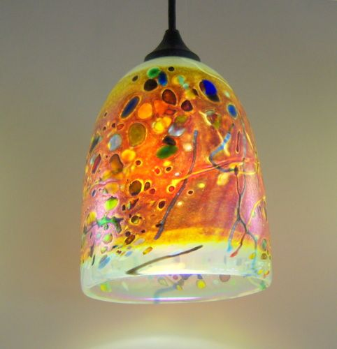 Clear Dome Pendant Light By Rick Hunter At Hunter Art