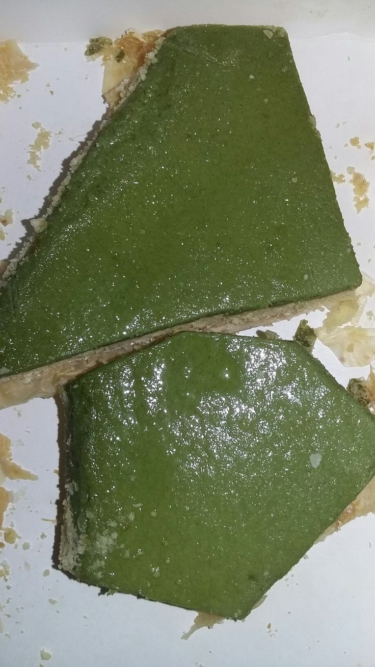 Princess green tea cake