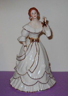 Lenox marfil Navidad gala 1996 Classic navidad victoriana Lady estatuilla Menta   Objetos de colección, Adornos de colección, Marcas de colección   eBay!