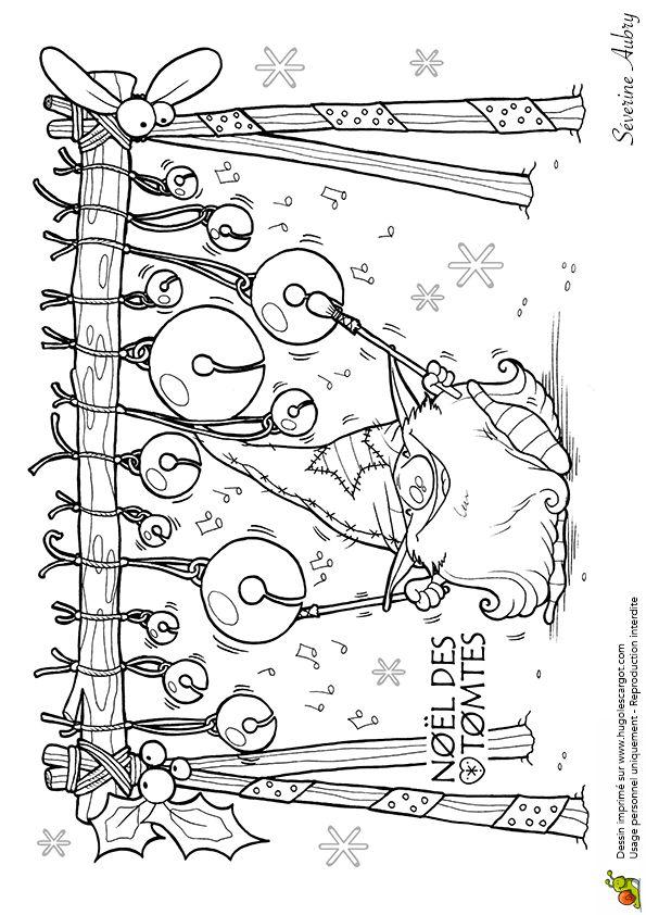 Les Tomtes Lutins Suedois Grelots, page 10 sur 12 sur HugoLescargot.com ... a lot of beautiful coloring pages!