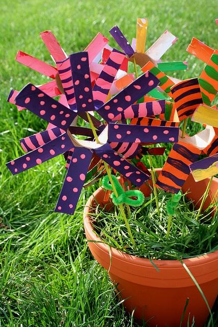 Cardboard tubes tp roll crafts pinterest flower for for Cardboard tube flowers