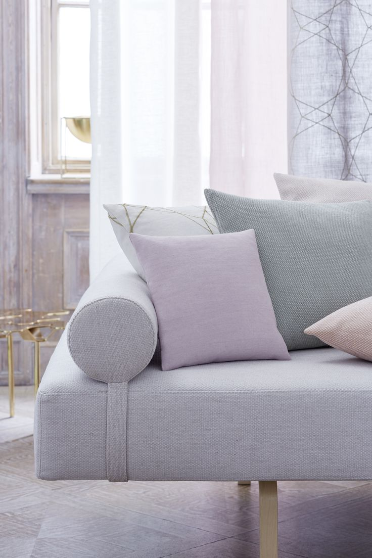 """Création Baumann presents the """"Linen & Friends"""" Collection  """"The new collection is designed to be light and subtle in appearance, earthy and powdery in colouring and severe and soft in the combination of materials"""", says Sibylle Aeberhard, the designer."""
