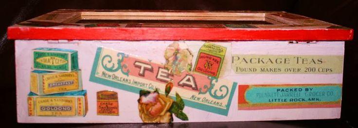 Side C of teabox