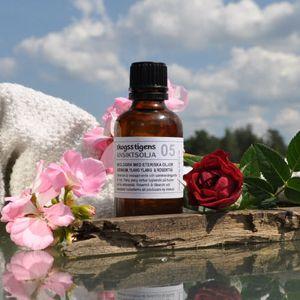 I #skogsstigens produkter tillsätts bara äkta #eteriska oljor – inga syntetiska parfymer eller doftoljor.