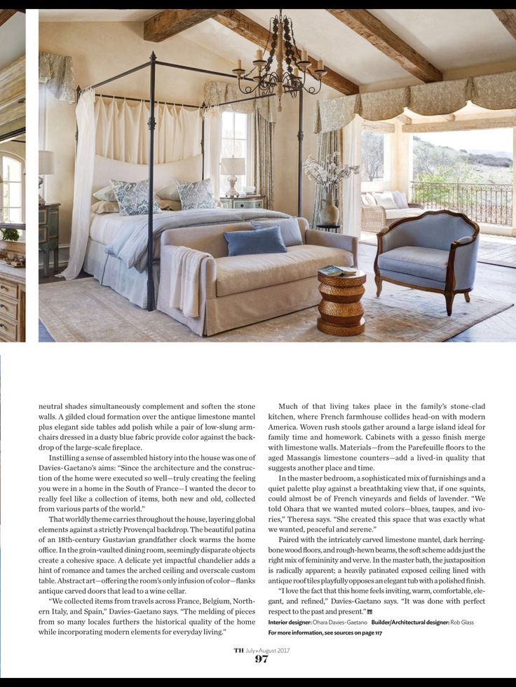 """""""French connection"""" from Traditional Home, July/August 2017. Read it on the Texture app-unlimited access to 200+ top magazines."""