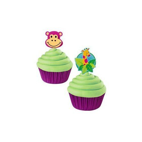 Having a Zoo Themed Party? Then these cake and cupcake supplies are just what you need. They are the perfect addition to any party held at a zoo and great for b