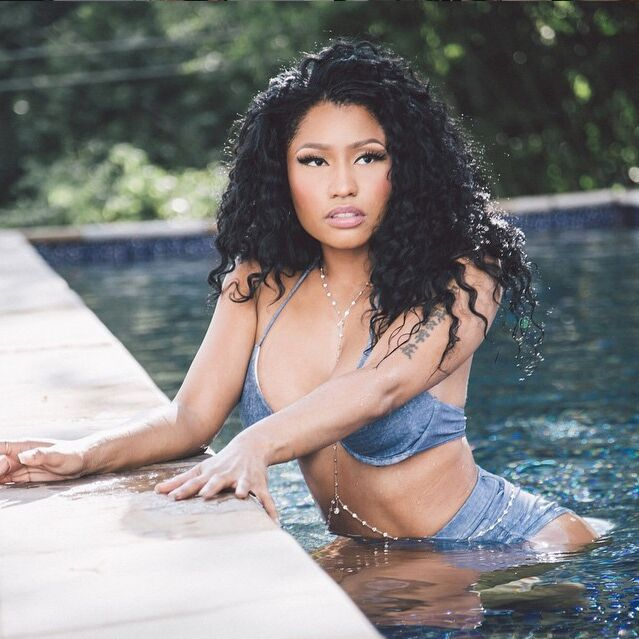 "Nicki Minaj is the definition of ""Feelin' Myself"" in the #NastyGal Jean Genie Swimsuit! || Shop now: http://www.nastygal.com/clothes-swimwear/nasty-gal-jean-genie-highwaisted-bikini-bottom?utm_source=pinterest&utm_medium=smm&utm_term=nastygals_in_the_wild&utm_campaign=influencer%20"
