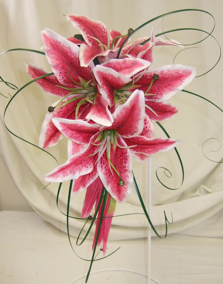 stargazers, these are so fragrant, I'm not sure I could handle it during the ceremony, but I love them just the same!