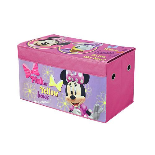 Minnie Mouse Bedroom 3 Drawer Storage Kids Wooden Box Pink: 26 Best Minnie Mouse Bedroom Inspiration Images On