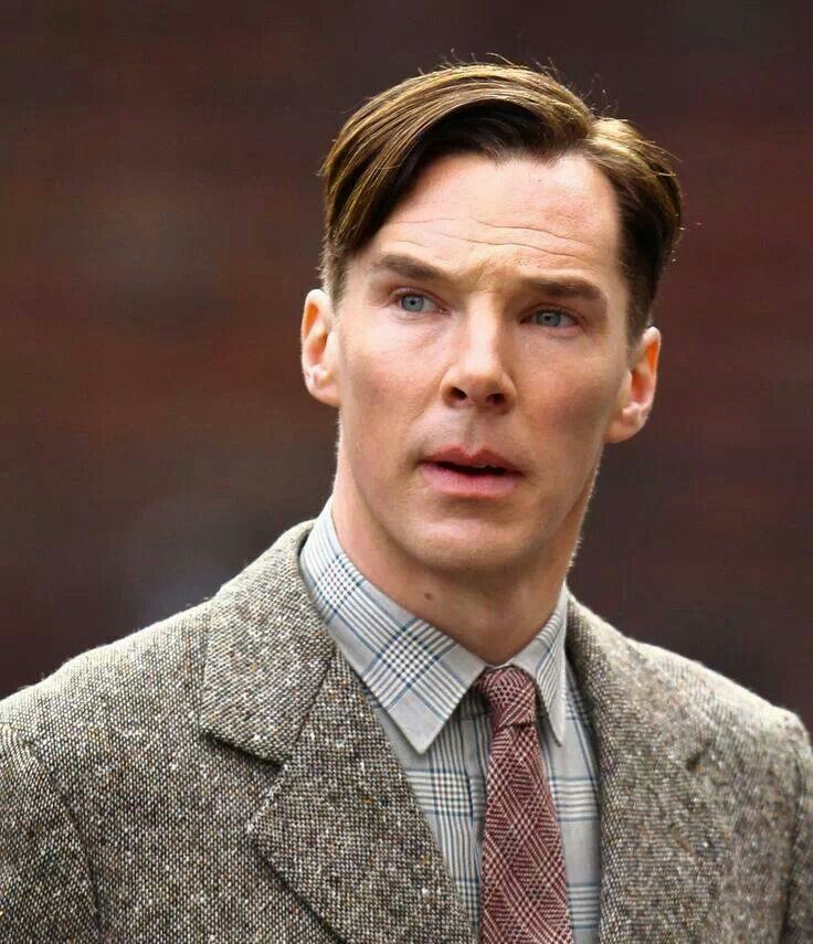 Benedict Cumberbatch plays Alan Turing in 'The Immitation Game ' about code breaking in world war two.