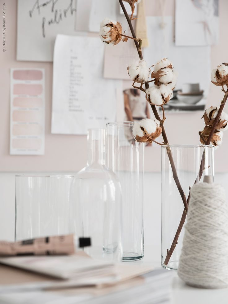 Scandinavian softness at its best! | Styling by Pella Hedeby | Photo by Sara Medina Lind for Ikea, Livet Hemma Follow Style and Create at Instagram | Pinterest | Facebook | Bloglovin