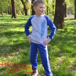 Детский спортивный костюм синий PSK-1005
