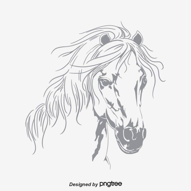 Horse Prints Horse Clipart Cartoon Horse Print Png Transparent Clipart Image And Psd File For Free Download Horse Painting Horse Print Animal Drawings