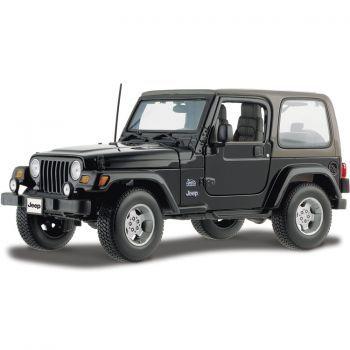 Maisto Wrangler Sahara Jeep Model Araba 1:18 Special Edition Siyah