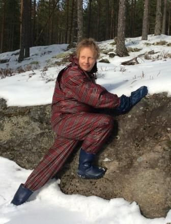 Skotskrutet bukse og jakke