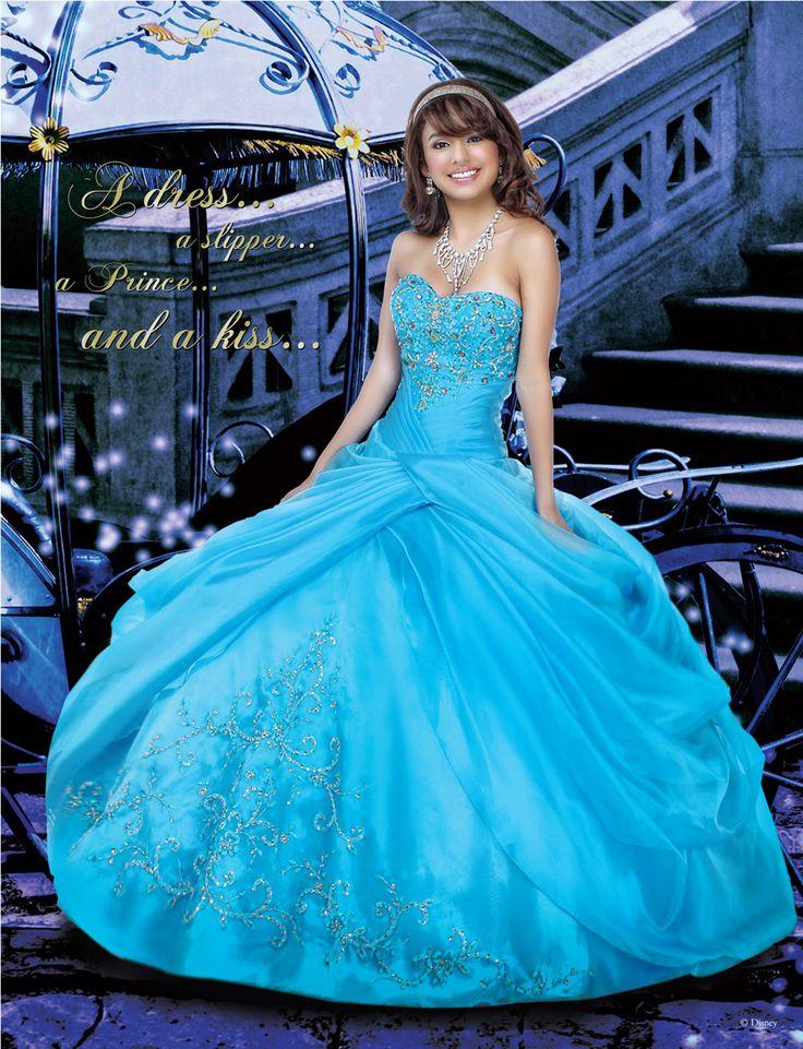 Disney Princess Cinderella Prom Dress