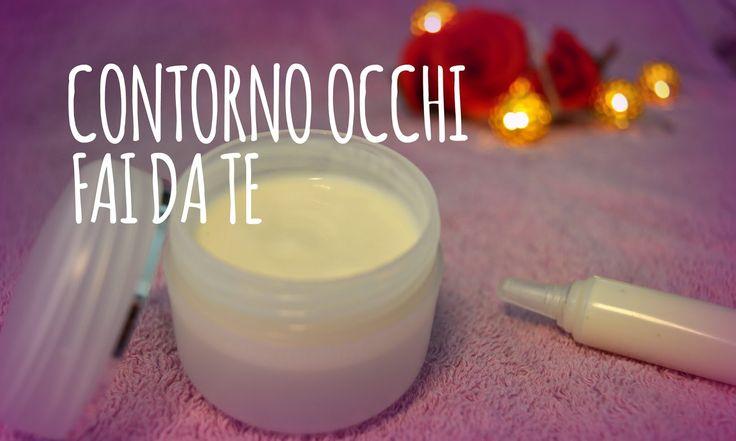 Ciao ragazzi! Eccovi il post correlato riguardo la crema contorno occhi fatta in casa idratante!  E' un prodotto ottimo che non ha nulla ...