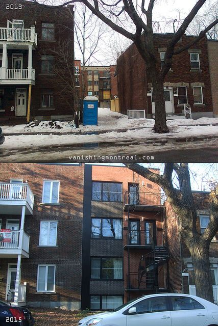 Before / After : rue Ste-Marie street