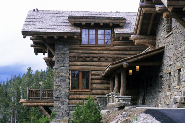 63 best ideas about rustic exterior shutters on pinterest for Custom home builders wyoming
