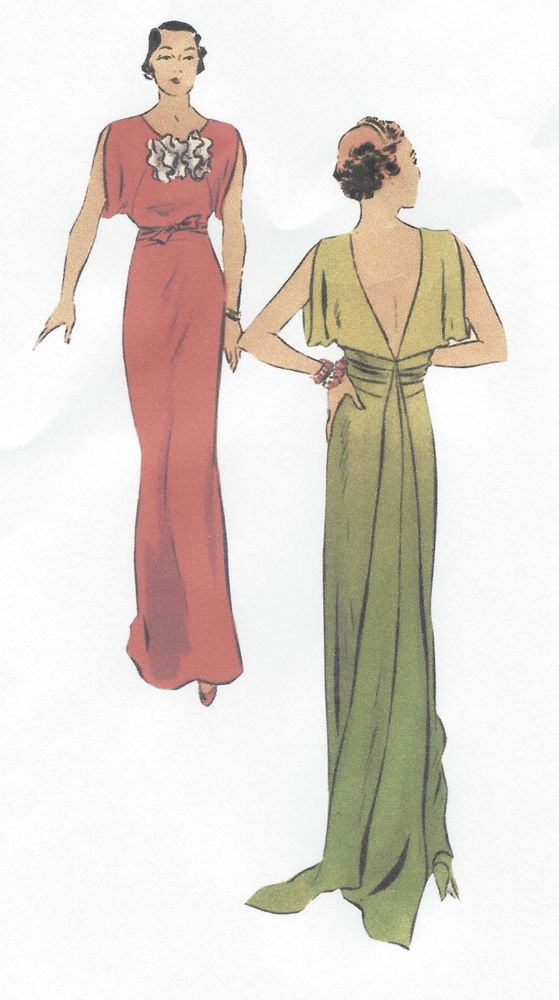 107 best Evening /Prom / Bridal Dress Patterns images on Pinterest ...
