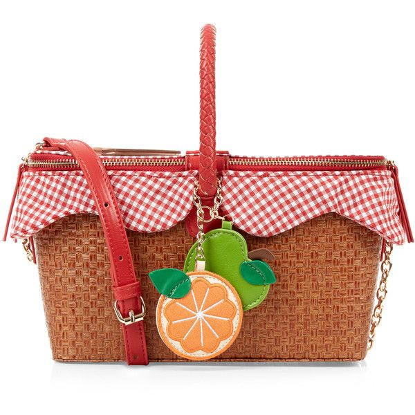 Accessorize Picnic Basket Across Body Bag (€62) liked on ...