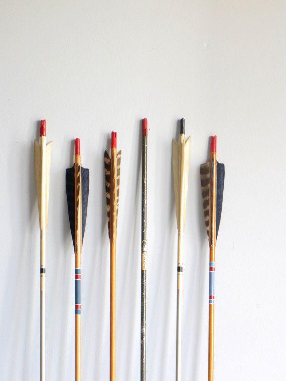 vintage archery arrow