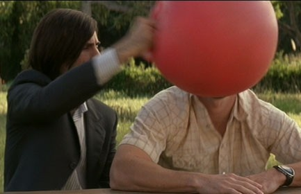 I Heart Huckabees - the ball thing. i mean, pure being. Anybody wanna do this with me?