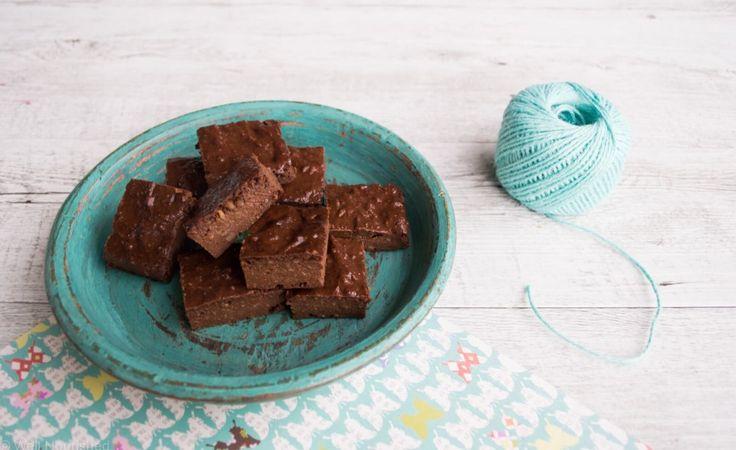 Three ingredient chocolate brownie