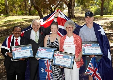 Australia Day Awards. To nominate someone for an Australia Day Award please visit http://www.melvillecity.com.au/nominate