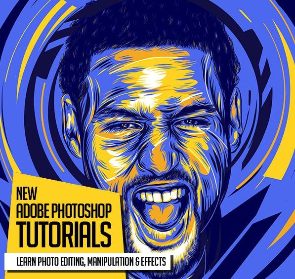 25 frescos Nuevos tutoriales de Photoshop de información para aprender manipulación de fotos increíble