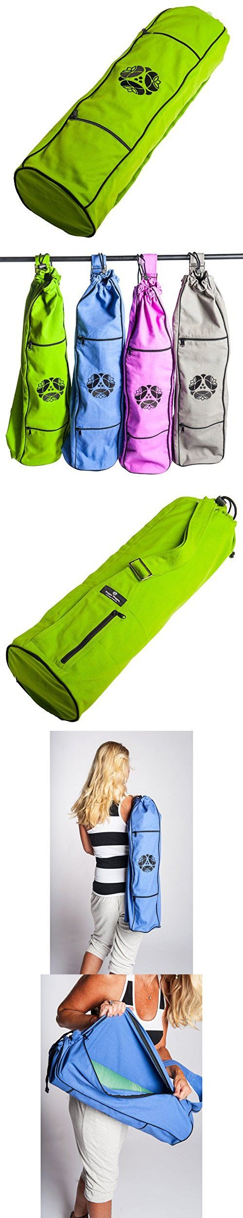 Hugger Mugger My Yoga Bag, Lime/Green
