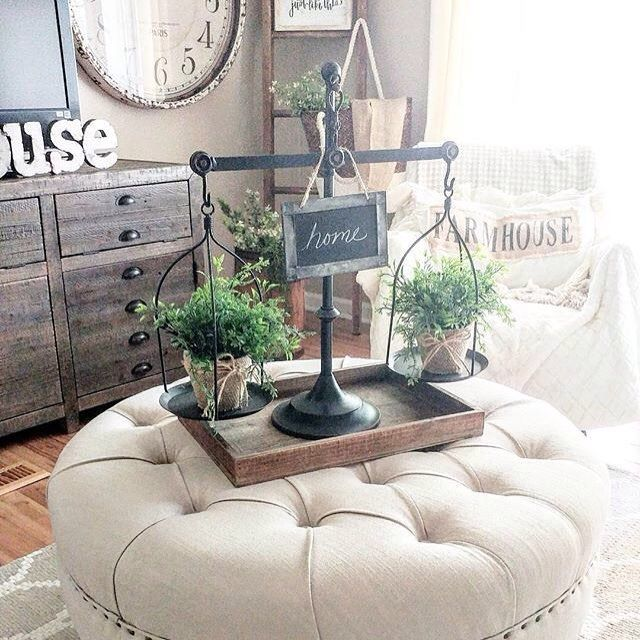 What a gorgeous style you have Mary! Love how you decorated our Balance Scales.  #homedecor