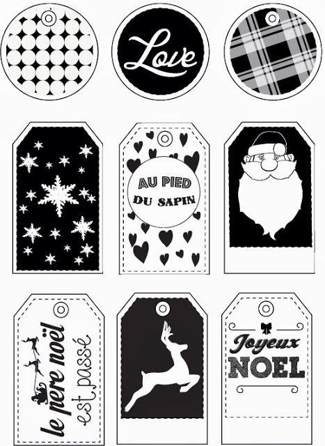 étiquettes cadeaux à imprimer,free printable gift label