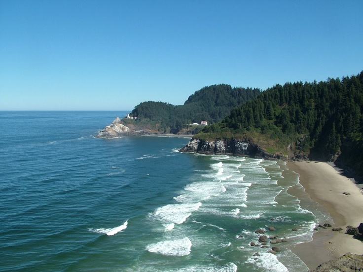 I do have to say the Oregon coast is beautiful
