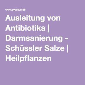 Manchmal nützt es nichts und man kommt an Antibiotika nicht vorbei. Hier gibt's tolle Tipps um die ungewollten Nebenwirkungen wieder in den Griff zu bekommen!