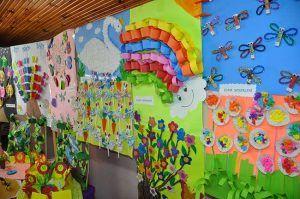 spring craft idea for preschool