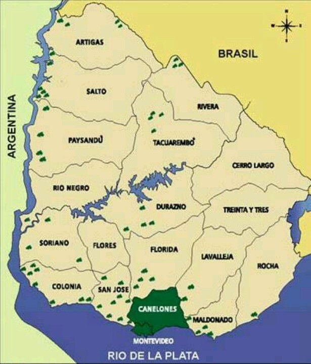 Best 25 map of uruguay ideas on pinterest uruguay map uruguay zonas vitivincolas de uruguay sciox Choice Image