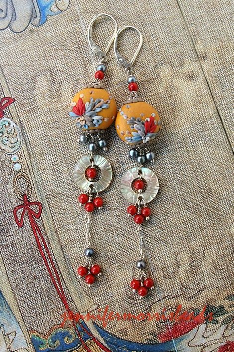 reserved for lucia  japanese poem in the by jennifermorrisbeads, $61.00