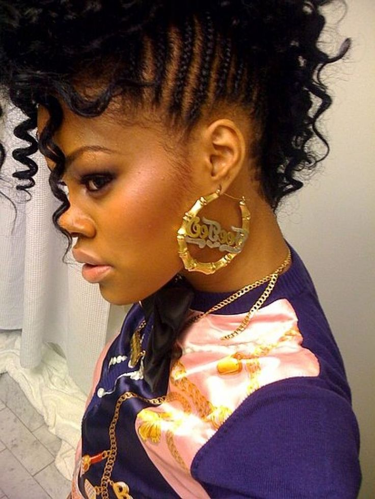 Black Naturally Curly Hairstyles For Black Women Popular