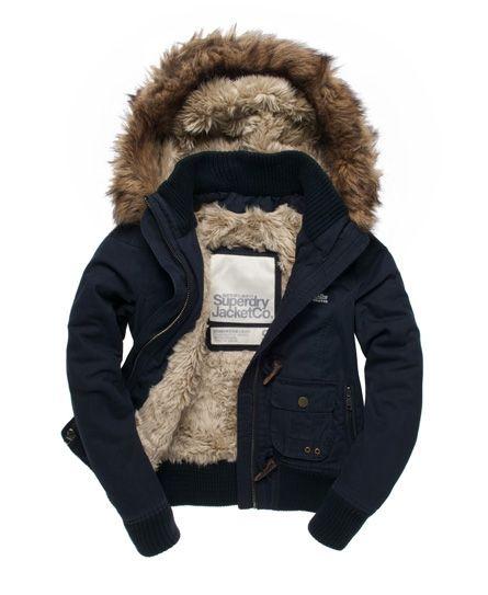 Superdry Study Duffle Jacket