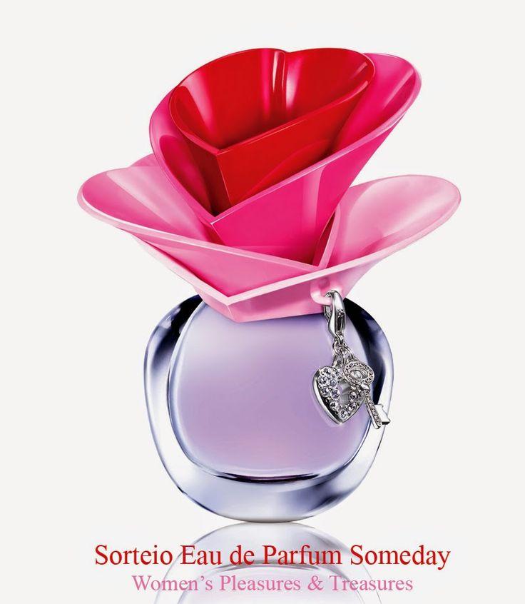WOMEN'S Pleasures & Treasures: Sorteio Eau de Parfum Someday