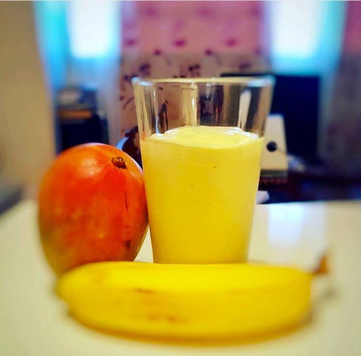 Smoothie mango banana