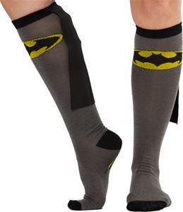 Batman Cape Socks - 340336 | trendyhalloween.com