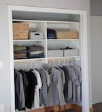 Closet Organizer - free plans from RyobiTools - closet organizers,storage,diy,free woodworking plans,free projects,do it yourself #closetorganizerplans