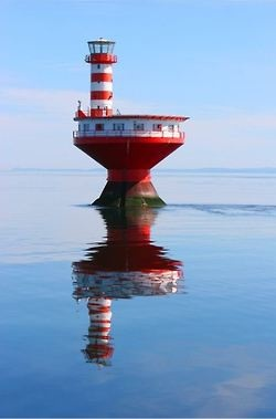Fleuve St-Laurent, embouchure du Saguenay. Québec, Canada